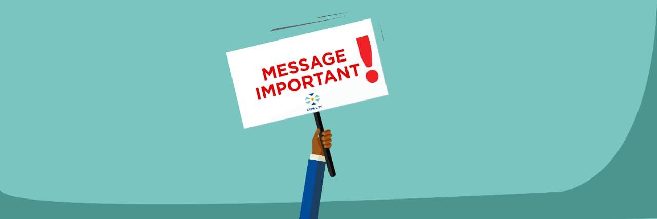 Message important de la Task Force